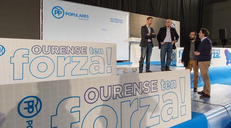 Baltar, reelixido presidente do PP de Ourense