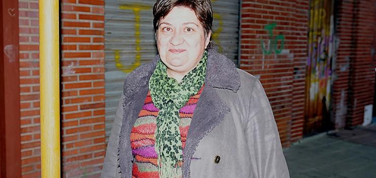 """Nieves Díaz: """"O barrio ten máis de  40 anos e está exactamente igual"""""""