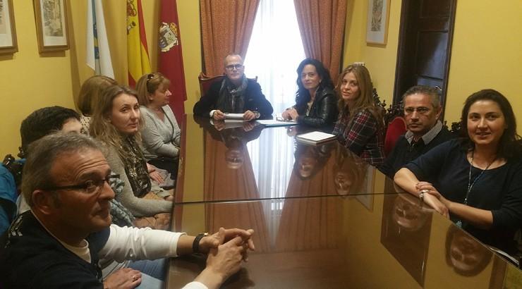 O alcalde reúnese co comité de empresa de Linorsa
