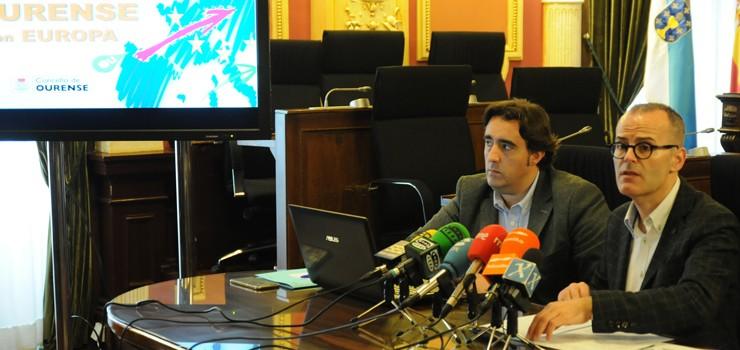 El Concello de Ourense opta a 1,1 millones de fondos europeos