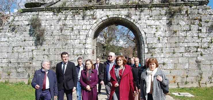 Fomento destinará 1,8 millóns de euros ao Mosteiro de Melón