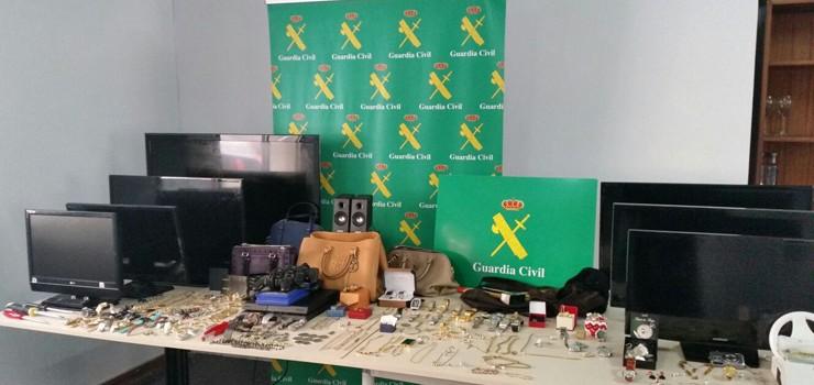 Detenidas siete personas por robos en viviendas de Ourense y Pontevedra