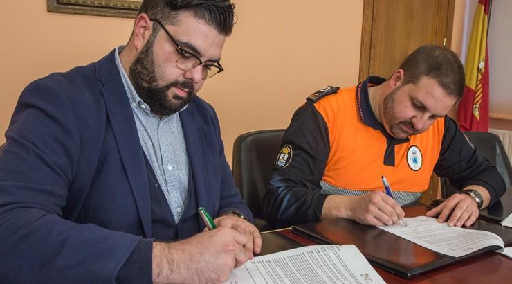 Convenio de colaboración entre o Concello de Verín e Protección Civil