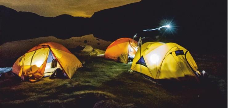 Taller de fotografía nocturna y lightpainting en Trives