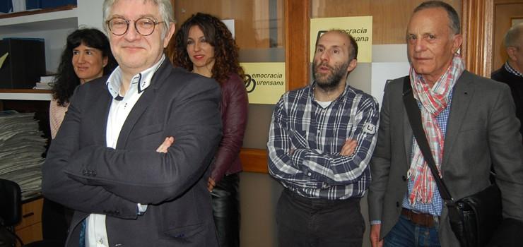 Democracia Ourensana presenta o seu candidato á Xunta