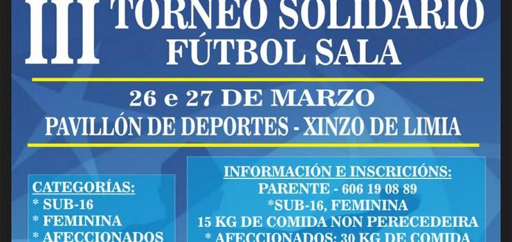 Novas Xeracións do PP de Xinzo recadou 1.800 quilos de alimentos cun torneo de fútbol sala