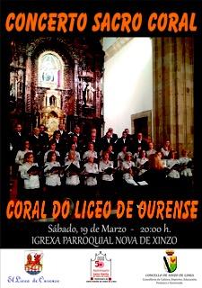Concerto: Coral do Liceo