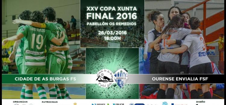 Dúas entradas para a final da Copa Xunta