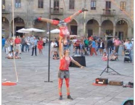 Infantil: Circo Chosco presenta «Forzu2 (con aéreos)»