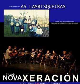 Música: Cantareiras Lambisqueiras e Rondalla Nova Xeración