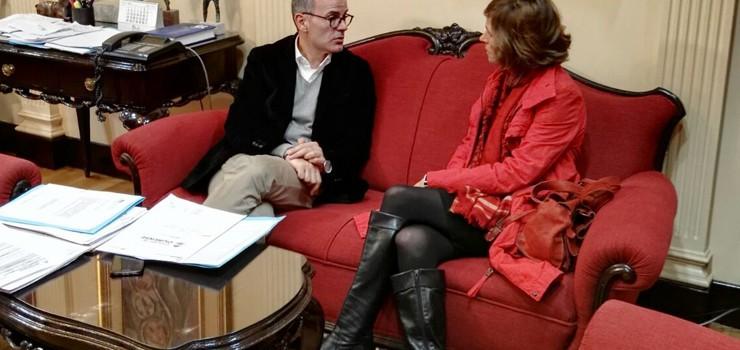 Convenio de colaboración entre Xunta, Concello e Plan Xacobeo para a posta en funcionamento do novo albergue de peregrinos