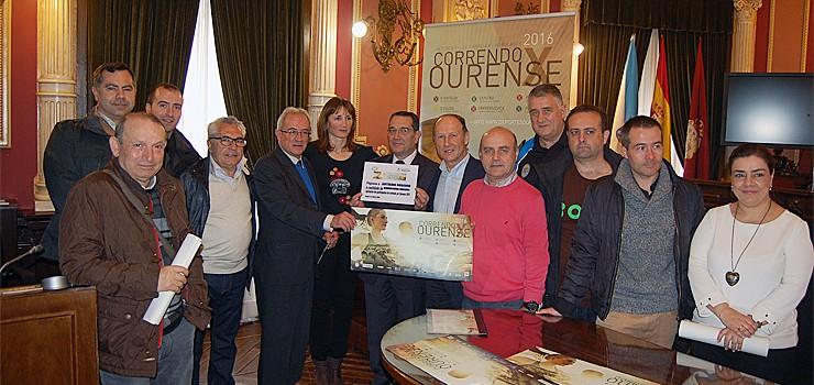 Chega a sexta edición do Correndo por Ourense