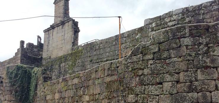 O PP acusa ao alcalde de Ribadavia de atentar contra o Castelo
