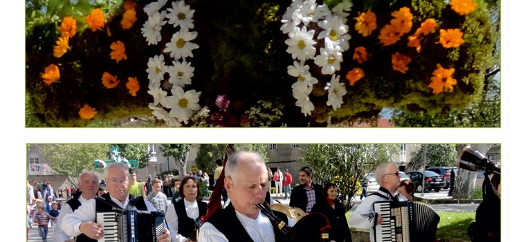 Celebración dos Maios en Allariz