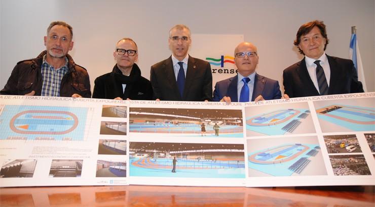 Paso ao fronte para que Ourense teña unha pista de atletismo cuberta