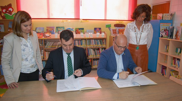 Educación e Deputación investirán 644.000 en melloras para 36 centros educativos da provincia