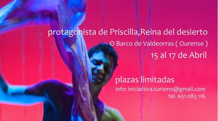Christian Escudero dirigirá un curso de movimiento expresivo en Valdeorras