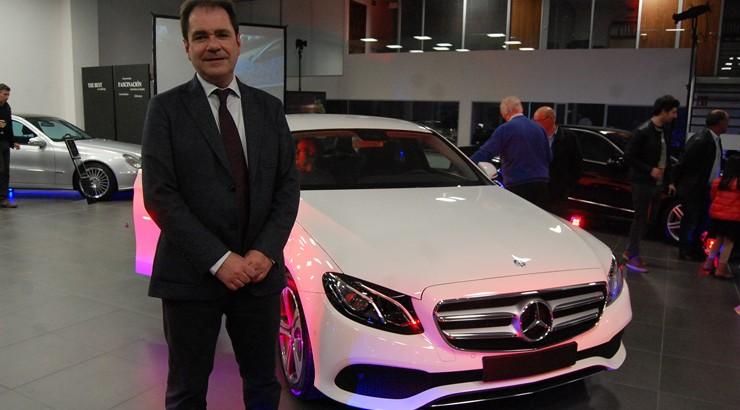 Novo Mercedes Clase E, a un paso da condución autónoma