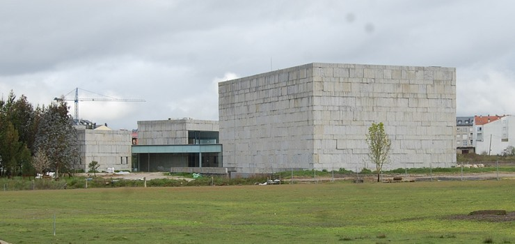 El Centro das Artes de Verín fue recepcionado por el Concello sin estar terminado
