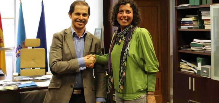 La CHMS y ADEGA firman un convenio que posibilitará la formación de voluntarios ambientales