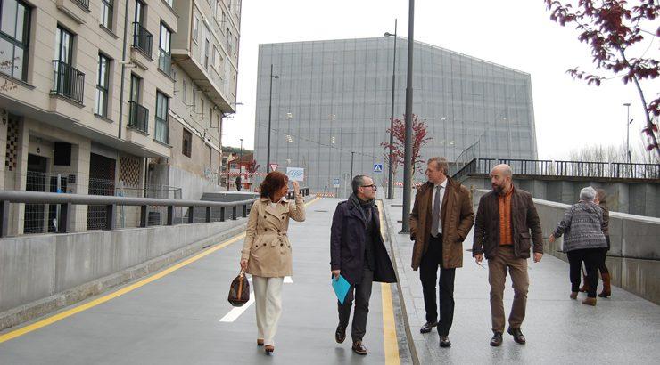 Ultímanse os accesos ao Edificio Xudicial