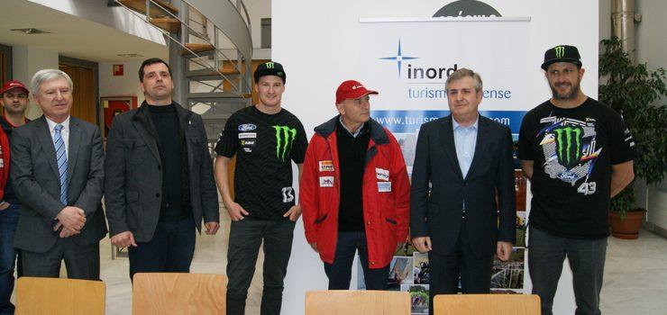 Preséntase en Ourense o Campionato do Mundo de Rallycross