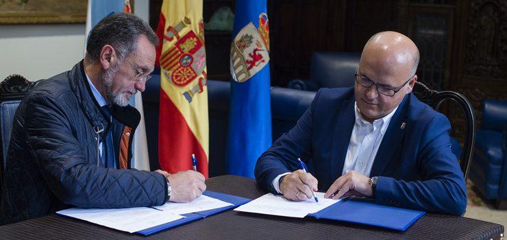 Deputación de Ourense e Concello de San Cibrao apostan polo polígono industrial