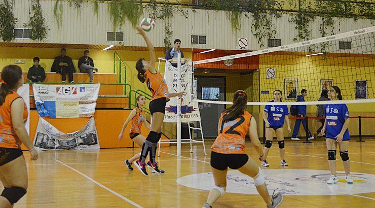 Partidos dos equipos do Burgas Voleibol