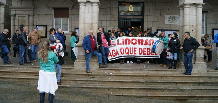 O conflito de Linorsa, en situación de impasse trala declaración de concurso de acredores