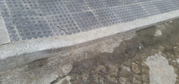 O PSOE alerta de que as melloras da rúa Mercado non inclúen a eliminación de barreira arquitectónicas