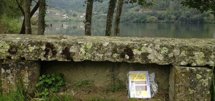 Libros e sendeirismo no bookcrossing 2016