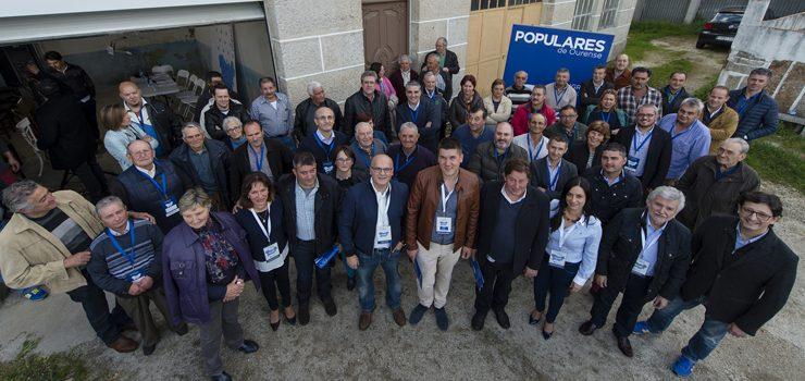 Marcos Ríos, novo presidente da xunta local do PP de Carballeda de Avia