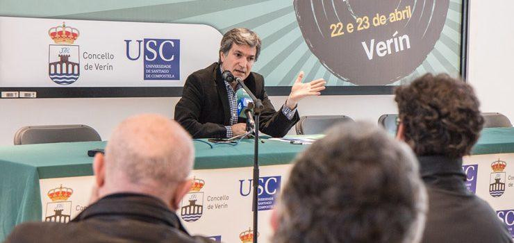 Profesionais, docentes e estudantes analizan en Verín o futuro do audiovisual galego