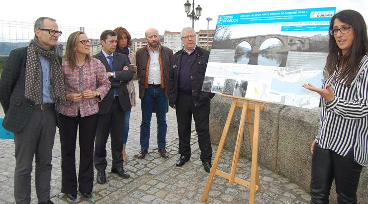 Posta en valor da ponte Romana
