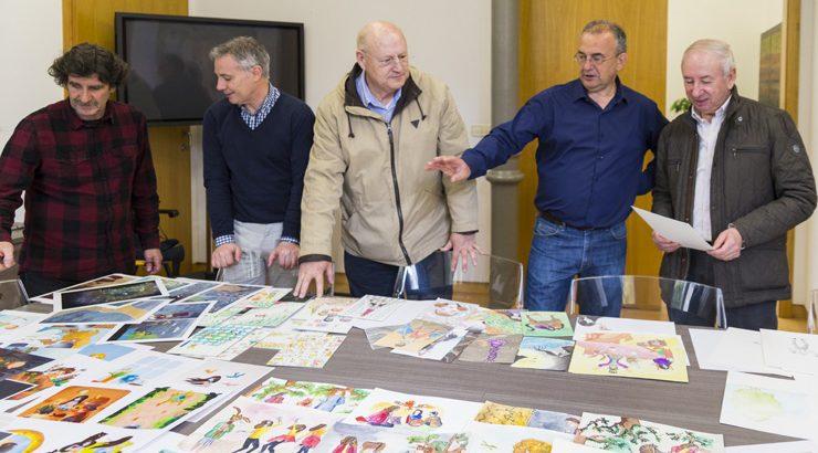 O coruñés Francisco Pérez Villanueva gaña o XIII Premio «Pura e Dora Vázquez» de Ilustración