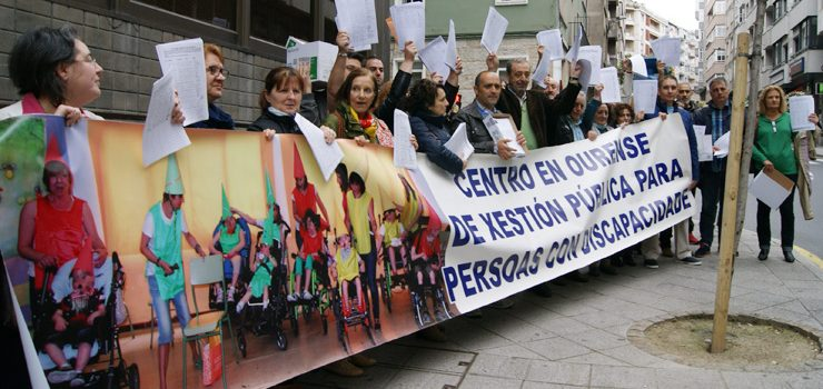 A Plataforma ProCAPD Ourense quere que os concellos ourensáns apoien á súa demanda