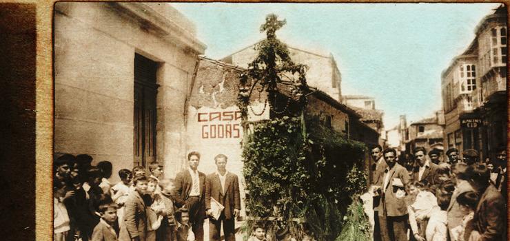 Verín celebra a tradicional Festa dos Maios