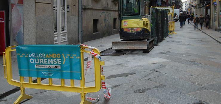 O Concello de Ourense dedicou 375.000 euros a arranxos de infraestruturas no primeiro trimestre de 2016
