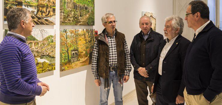 Exposición sobre os espazos máis emblemáticos da provincia, no Marcos Valcárcel