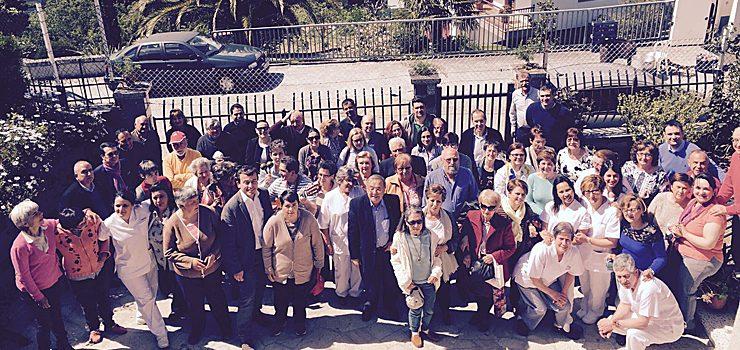 La residencia para personas con discapacidad de Ceboliño celebra su 25 aniversario