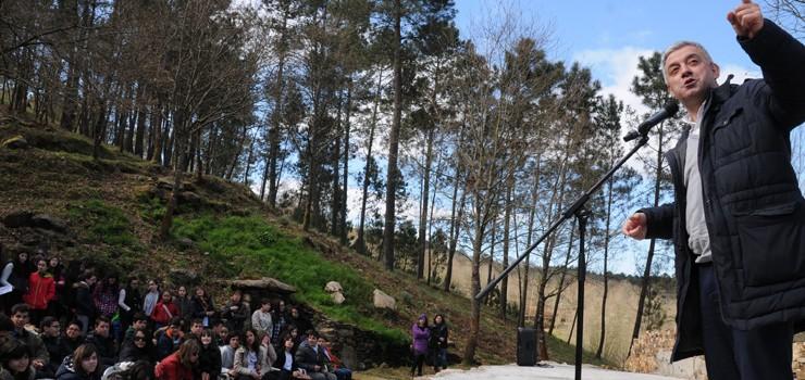 """Celebración do """"Día da Auga, da Árbore e da Poesía» na Insua dos Poetas"""