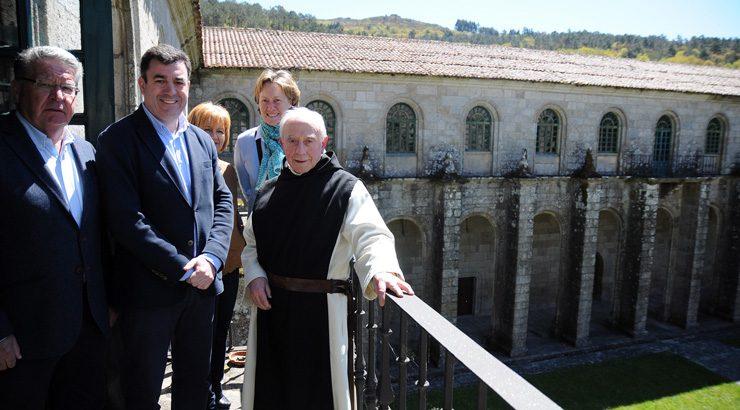 A Xunta rehabilitará o mosteiro de Oseira