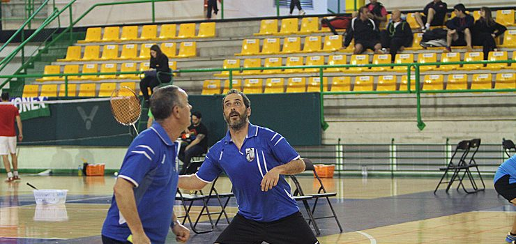 Cinco medallas para Ourense no Campionato de España de badminton