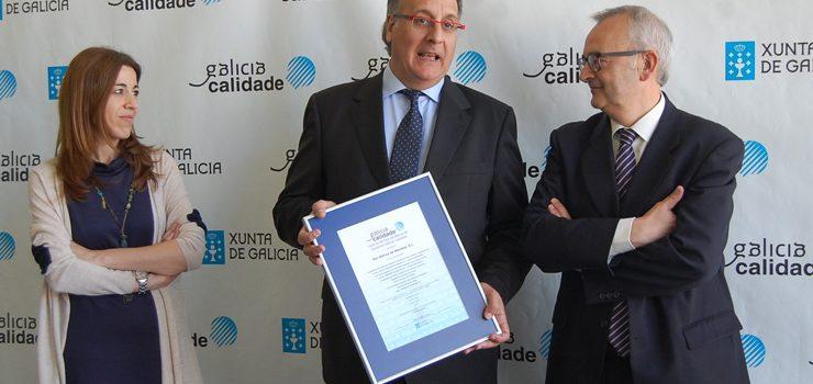A empresa Nor-Ibérica recibe o certificado de Galicia Calidade
