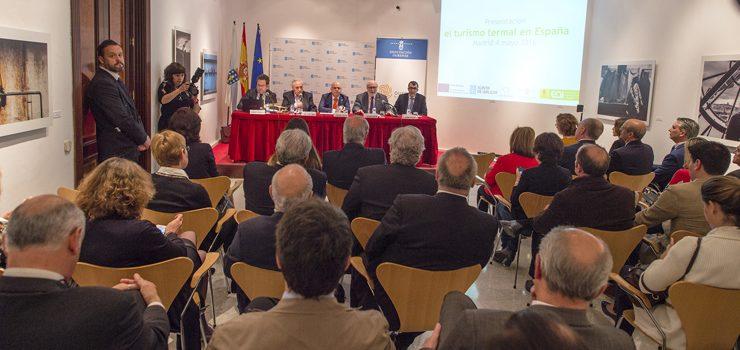 Baltar remarca o termalismo como «panca de desenvolvemento en Ourense»