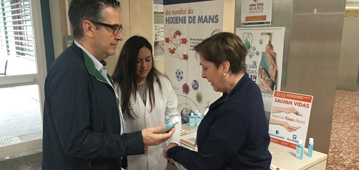 A hixiene das mans, un xesto que salva vidas
