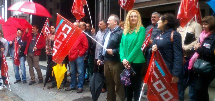 CCOO esixe a readmisión da delegada sindical do Matadoiro Municipal