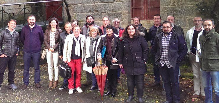 Xuntanza en Xunqueira de Ambía da rede de candidaturas veciñais de Ourense