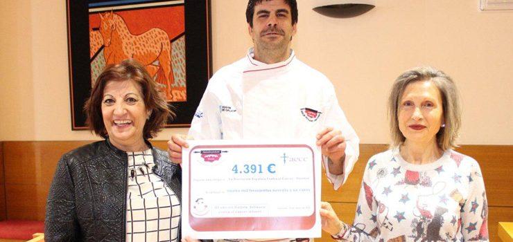 La tercera edición de la Galleta Solidaria contra el Cáncer Infantil recauda casi 4.400 euros