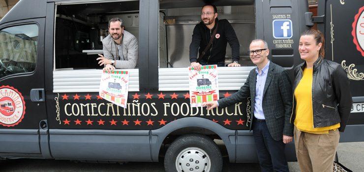 O Posío acollerá  esta fin de semana o I Food Truck Fest de Ourense